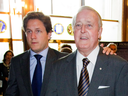 Former prime minister Brian Mulroney and his son Mark Mulroney, who would have been a serious contender for the Conservative leadership had he decided to run, John Ivison writes.