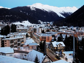 Some 2,800 of the world's VIPs will bundle up for the World Economic Forum's 50th anniversary in Davos.