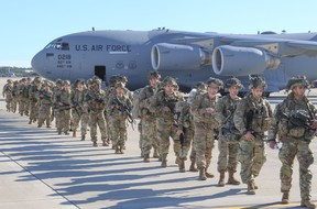 Paratroopers from 2nd Battalion, 504th Parachute Infantry Regiment, 1st Brigade Combat Team, 82nd Airborne Division were activated and deployed to the U.S. Central Command area of operations in response to recent events in Iraq