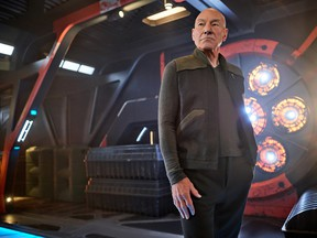 Classically trained actor Patrick Stewart returns to a memorable role as the titular character in Picard.