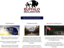 The Buffalo Declaration was released on Feb. 20, 2020 by four Alberta MPs.