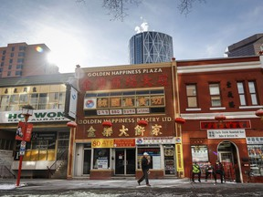 Businesses in Chinatowns across Canada have reported a drop in activity since COVID-19 hit China in January and started to spread around the world. The streets a quite in Chinatown in Calgary, Alta., Wednesday, Feb. 26, 2020.