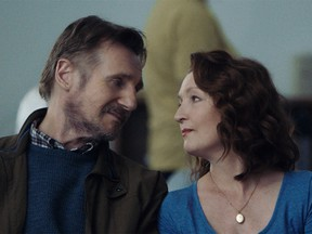 Liam Neeson and Lesley Manville play a married couple in Ordinary Love.