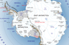 An overview map of Antarctica.