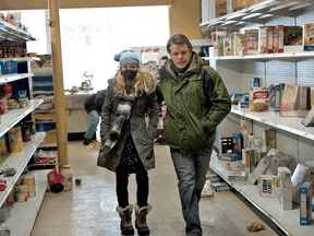 Anna Jacoby-Heron and Matt Damon in a scene from Contagion. If you're looking for a topical movie to watch, this seems like a good choice.