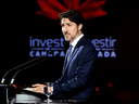 Prime Minister Justin Trudeau speaks at the Prospectors and Developers Association of Canada annual conference in Toronto, on March 2, 2020.