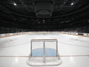 Capital One Arena sits empty on March 12, 2020 in Washington, DC. The NHL suspended its season due to coronavirus concerns.