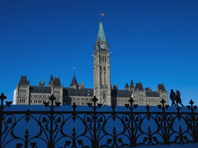 Parliament Hill is seen in a file photo from Nov. 13, 2019.