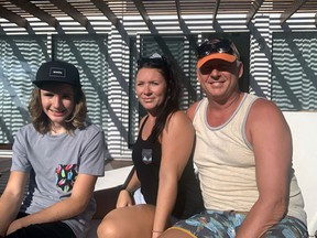Normajean Mills, her husband, Guy Merke, and their 14-year-old son Braxton, of Ninette, Man., are among Canadians giving up their seats on a repatriation flight to Canada from Honduras for others in urgent need.