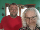 Rose and Greg Yerex at home in Port Dover, Ont. They are among the Canadians who have been infected with the new coronavirus, but never felt ill.