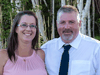 Nova Scotia shooting victims Greg and Jamie Blair.