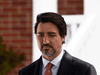 Prime Minister Justin Trudeau addresses Canadians on the COVID-19 pandemic from Rideau Cottage in Ottawa on April 2, 2020.