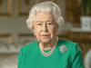 Queen Elizabeth II at Windsor Castle to record her address to the U.K. and the Commonwealth in relation to the COVID-19 coronavirus epidemic on April 5, 2020.
