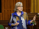 """In a recent interview, Green Party leader Elizabeth May claimed Canadian oil is a """"product lacking investors."""