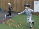 Children play at the Harris Academy's Shortland's school on June 4 in London, England.