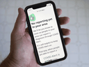COVID Alert, a Canadian smartphone app released Friday July 31, 2020 is meant to warn users if they've been in close contact with someone who tests positive for COVID-19.