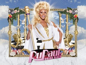 """An image of drag queen Ru Paul in their show """"Ru Paul Drag Race Season 5"""" that airs on OUTtv, Canada's only national gay and lesbian television network."""