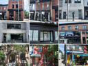 The WE Organization owns these nine properties in Toronto's East End.