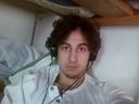 Boston bomber Dzhokhar Tsarnaev is pictured in this file handout photo presented as evidence by the U.S. Attorney's Office in Boston, Massachusetts on March 23, 2015.