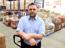Michael Maidment, executive director of the Ottawa Food Bank, said the COVID-19 pandemic was a perfect storm for his organization.