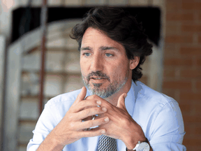 The most recent total spent on public opinion polls is the lowest under Prime Minister Justin Trudeau's governance, but is still three times what it had been under Stephen Harper.