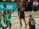All Kyle Lowry — shown here taking a shot in Wednesday's epic Game 6 against the Boston Celtics — has done this season is polish his legacy as a Toronto Raptor.
