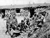 Soldiers with the International Brigades during the Spanish Civil War.