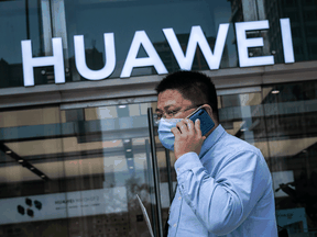 The U.S. has urged Canada and Western allies not to use Huawei's 5G technology, saying it is an espionage arm of the Chinese military. The company denies the accusation.