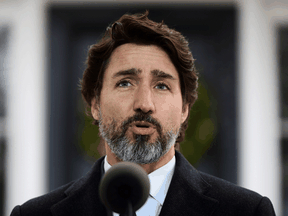 """Prime Minister Justin Trudeau: """"There are certainly things in this fall economic statement that every party should be able to support in terms of helping Canadians."""""""