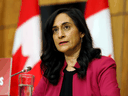 Federal Procurement Minister Anita Anand.
