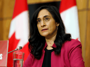 "Federal Procurement Minister Anita Anand: ""Canada is in a position to accept delivery of vaccines as soon as they are available."""