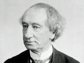 Canada's first prime minister, Sir John A. Macdonald. Just as people in our own lives sometimes disappoint us, so it is with historical figures.