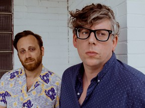 (L-R) The Black Keys' Dan Auerbach and Patrick Carney.
