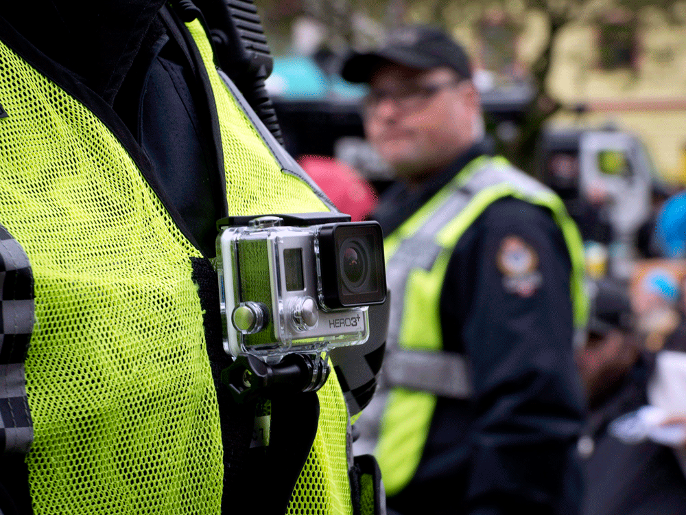There are currently two RCMP officers on each shift in the force's detachment in Iqaluit wearing body cameras.