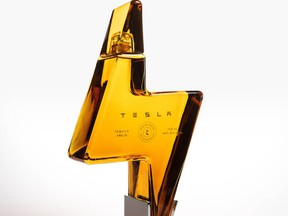Tesla launched its tequila product on Thursday.