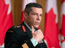 Maj.-Gen. Dany Fortin, who is overseeing the federal government's COVID-19 vaccine rollout.