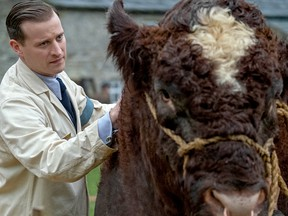 Nicholas Ralph stars as country veterinarian James Herriot in the new PBS production of All Creatures Great and Small.