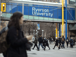 The Ryerson University campus in downtown Toronto.