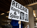 The Declaration of Arbitrary Detention in State-to-State Relations was inspired by Canada's efforts to garner support from other countries in the cases of Michael Kovrig and Michael Spavor, who have been imprisoned by China for more than two years .