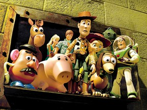 Mr. Potato Head appears with his pals in Disney's Toy Story 3.