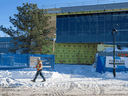 Vaccines won't come of the line at this under-construction National Research Council of Canada facility in Montreal until at least December.