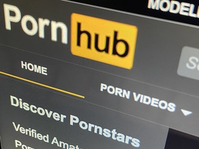 Pornhub said it removed all content uploaded by non-verified users after it was accused of hosting illegal content.