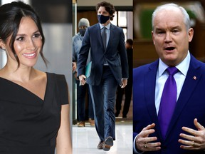 Meghan Markle, Justin Trudeau and Erin O'Toole all came up in this week's episode of the National Post's new politics show, Ivison.