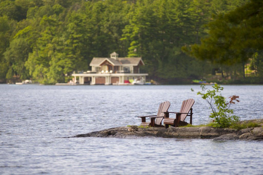 Muskoka: The extremely quaint face of one of Canada's hottest real estate markets.