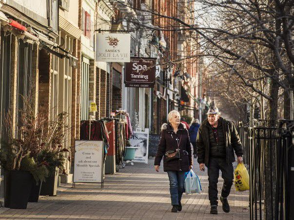 Collingwood, Ont., which saw real estate prices rise more than 19 per cent in 2020.