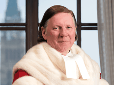 Malcolm Rowe, one of two justices who dissented on the Supreme Court of Canada's federal carbon tax ruling.