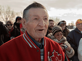 Walter Gretzky at an event in his hometown of Canning, Ontario, in 2016.
