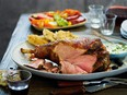 Roasted leg of lamb with tzatziki from Cooking Meat