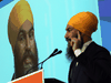 Federal NDP Leader Jagmeet Singh told reporters Friday he is expecting -- though not hoping for -- an election soon.