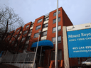 A Calgary long-term care facility operated by Revera Inc. A spokesman for the company said its employee vaccination rate across its long-term care homes and retirement residences is at about 50 per cent.